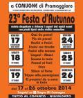 [23^ Festa d'Autunno - dal 17 al 26 ottobre]
