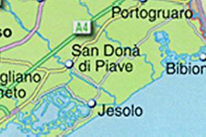 Lignano Cartina Geografica.Caorle Scomparsa Dalle Cartine Chi Sbaglia Paga Cronaca Portogruaro Net Portogruaro Venezia