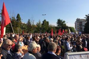 [Più di un migliaio alla manifestazione contro l'Ospedale unico]