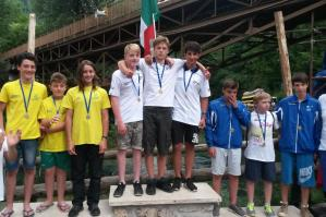 [ASD Canoa Club Portogruaro: Team Slalom chiude la stagione 2015 nei top 10]