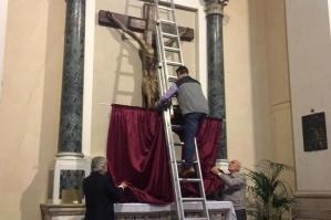 [Inaugurato ieri il restauro del Crocifisso in Duomo]