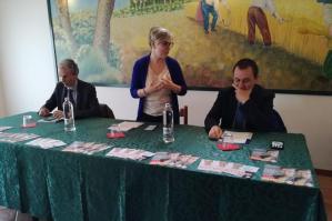 """[On. Moretto a Fossalta di Portogruaro con Ettore Rosato: """"Creare un team di lavoro per portare a Roma le istanze dell�Alto Adriatico""""]"""