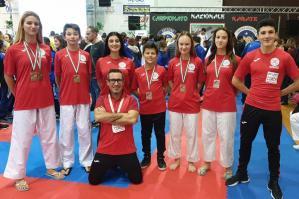 [Budo Life Evolution, 7 medaglie al Campionato Nazionale CSEN di Karate]