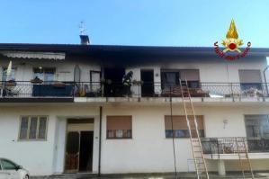 [Esplosione per una fuga di gas in una casa di Portogruaro, anziano ferito]