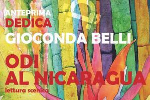 """[La lettura scenica """"Odi al Nicaragua"""" per l'anteprima di """"Dedica Festival""""]"""