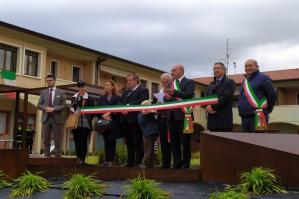"""[Teglio Veneto, inaugurato il Magazzino comunale e la """"Corte dei Tigli""""]"""