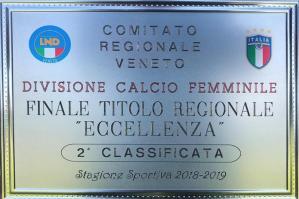 [Trofeo Regionale Eccellenza, secondo posto al Portogruaro Calcio Femminile]