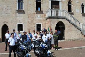 [Alla Polizia Locale del Portogruarese due nuovi motocicli ]