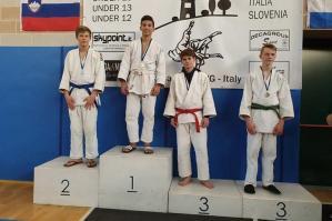 [Judo Kiai, en plain al Trofeo Internazionale Giovanile Shimai ]