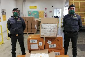 [La Guardia di Finanza di Portogruaro ha sequestrato 22mila mascherine non sicure]