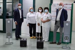 [Sanificazione ambienti: donati 4 nuovi dispositivi all'ospedale]