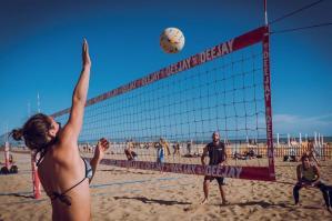 [Bibione si veste di sport nel prossimo weekend, tra beach volley e fitness]