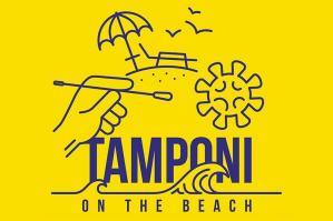 """[Ulss4: al via l'iniziativa """"Tamponi on the beach""""]"""