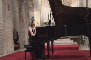 [L�opera metropolitana presenta �Concerto Pianistico� Arianna De Stefani]